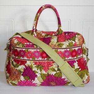 Vintage Vera Bradley Hello Dahlia Weekender Bag